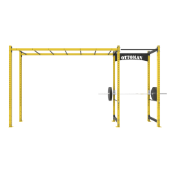 Power Rack ve Monkey bar Aparatlı